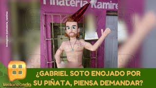 ¿Gabriel Soto enojado por su piñata, piensa demandar? | 12 de enero 2021 | Ventaneando