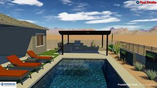 Mid-Century Modern Pool By Trevor Brents