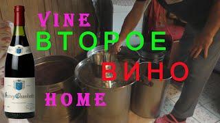 Домашнее виноделие. Второе вино. ПРОСТО.