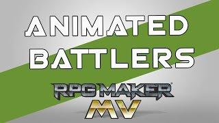 RPG MAKER MV - Animated Battlers