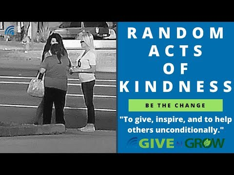 Random Act of Kindness Paying for Gas and Helping the Homeless