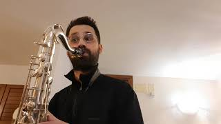 "Selmer Soloist C*@0,110"" by Filippo Bucci tenor saxophone mouthpiece + D'Addario Reserve #3 reed"
