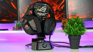 asus ROG Centurion review - true 7.1 surround in a headset
