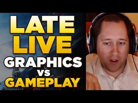 LATE LIVE | Graphics vs Gameplay Star Wars Battlefront and more...