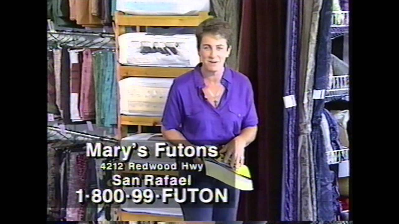 Mary S Futons Pacific Bell Yellow Pages Phone Number Mistake Ad 1997