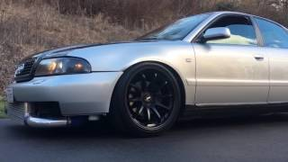 2000 Audi A4 1.8t Big Turbo 2step and Flyby