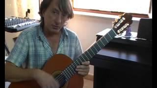 Lezione di chitarra n.1