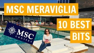 I was lucky enough to cruise on the MSC Meraviglia over the Christm...