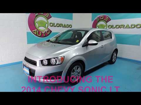 2014 Chevy Sonic LT Turbo - CARFAX 1-Owner - 303Auto.com