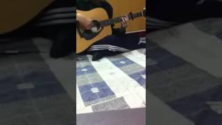 cherry aspirations guitar cover ( Nguyện ước hoa anh Đào) - by Đạt Ngốc