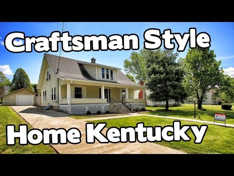 American craftsman style house in historic perryville for Mission style homes for sale