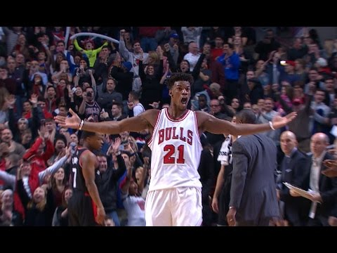 Jimmy Butler Seals the Game with 3 in OT | 01.07.17