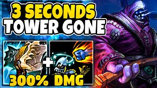 *300% DMG to Towers* I foขnd the new #1 ULTIMATE Jax build