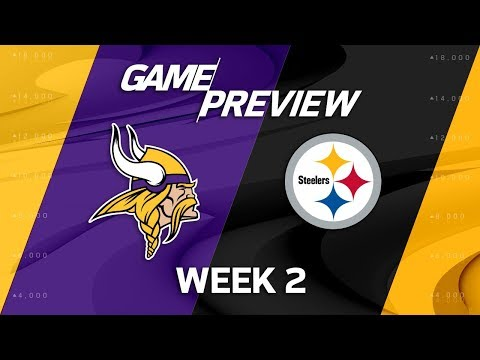 Minnesota Vikings vs. Pittsburgh Steelers | Week 2 Game Preview | Move the Sticks