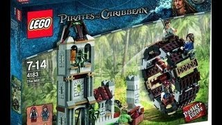 LEGO Pirates of the Caribbean The Mill 4183 Review