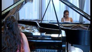 Գայանե Հախնազարյանն աշխարհահռչակ կոմպոզիտորների պիեսները վերածում է դուետների