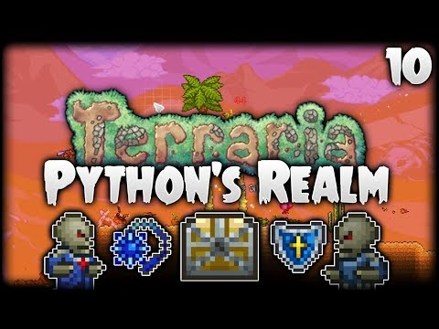 Terraria Let's Play (1.3.5)   Hellevator & Dungeon Rampage!   Python's Realm [S2 - Episode 10]