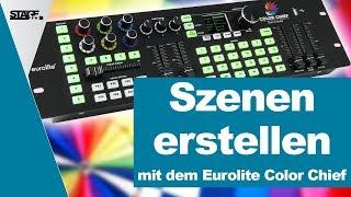 Wie erstelle ich Szenen mit dem Eurolite Color Chief? | stage.college