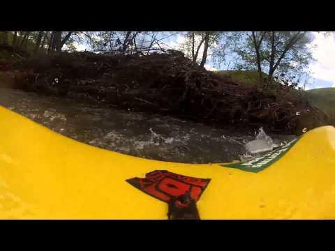 Kayaking on Pine Creek