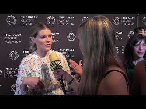 Emma Greenwell  Hulu's The Path @ The Paley Center  AfterBuzz TV Red Carpet