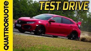Nuova Honda Civic Type-R: la prova in pista a Vairano   Quattroruote