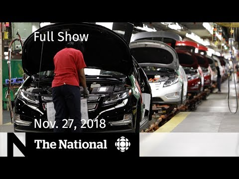 The National for November 27, 2018 — GM Response, Insulin Pumps, Northern Power