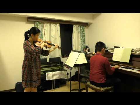 ゴセックのガボット【Gossec Gavotte 】 slow violin with piano