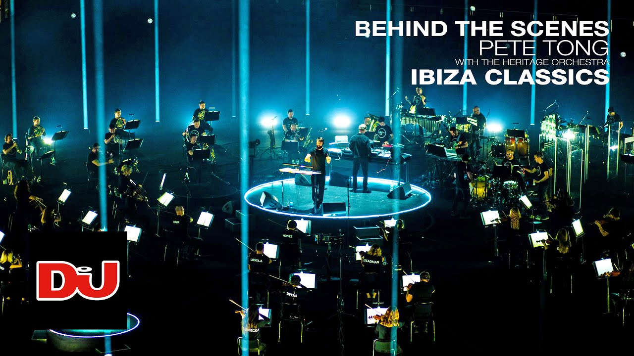 Pete Tong and The Heritage Orchestra bring the Ibiza classics to the O2 Arena
