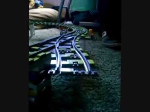 The Lego Speed Train 0001 Travel Video