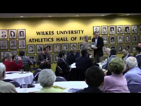 2013 Wilkes Hall of Fame Induction Ceremony