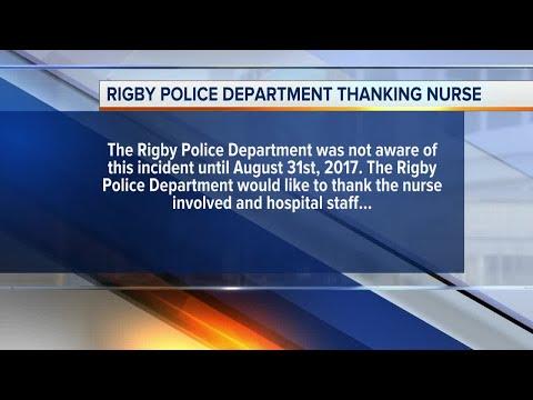 Burn victim in Utah nurse arrest is from Idaho