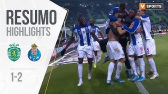 Highlights | Resumo: Sporting 1-2 FC Porto (Liga 19/20 #15)