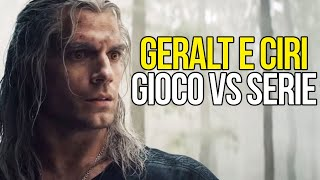 Geralt e Ciri: The Witcher - Serie vs Game (2002, 2015, 2019)