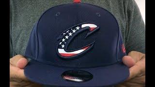 Cavaliers 'FLAG FILL INSIDER SNAPBACK' Navy Hat by New Era