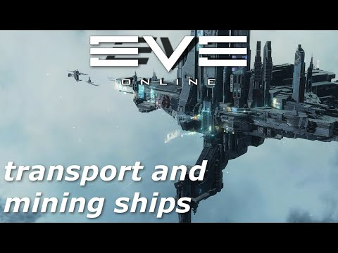EVE Online - industrial and mining ship markets