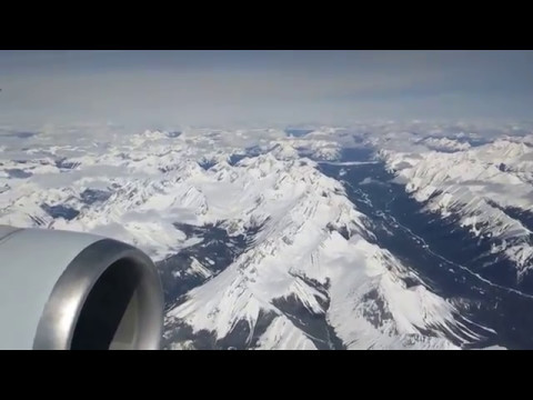 Tokyo to Calgary on a Boeing 767