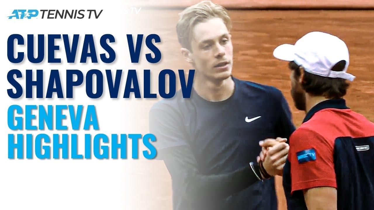 Trickshots & Hot Shots: Pablo Cuevas vs Denis Shapovalov Entertainment!