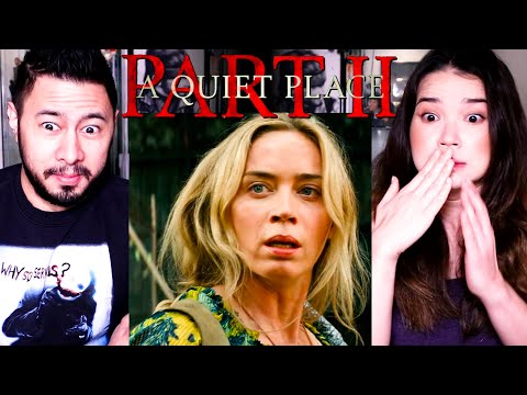 A QUIET PLACE Part II | Emily Blunt | Trailer Reaction | Jaby Koay