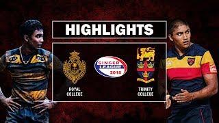 Match Highlights - 74th Bradby Shield Trinity v Royal 1st Leg