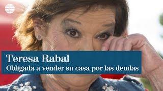 Teresa Rabal, obligada a vender su casa por las deudas