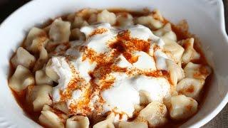 Manti (Turkish Dumplings) - Turkey Eats Series 2011
