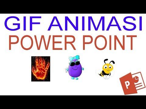 3 Cara Menambahkan Gif Animasi Pada Powerpoint Video Tutorial Youtube