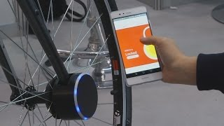 «Умный» противоугонный замок для велосипеда изобрели в Южной Корее (новости)