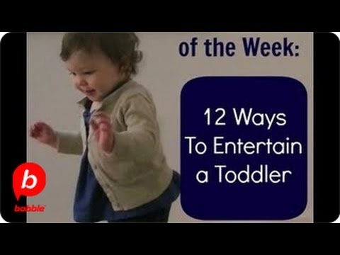 Thumbnail: How to Entertain a Toddler in 12 Ways | Mom Tip of the Week | Babble