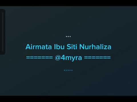 Download musik AIRMATA IBU - SITI NURHALIZA KARAOKE di ZingLagu.Com