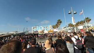 VR180 Slice of Life  Venice Beach Street Performance