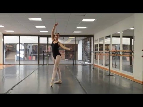 Sofia Salazar Ballet audition 2016