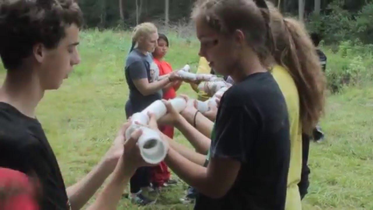 Team Building Yarn Ball