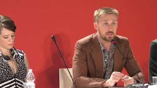 Ryan Gosling on Damien Chazelle FIRST MAN Venice Film Festival