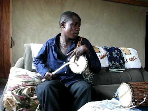 Talking Drummer From Nigeria